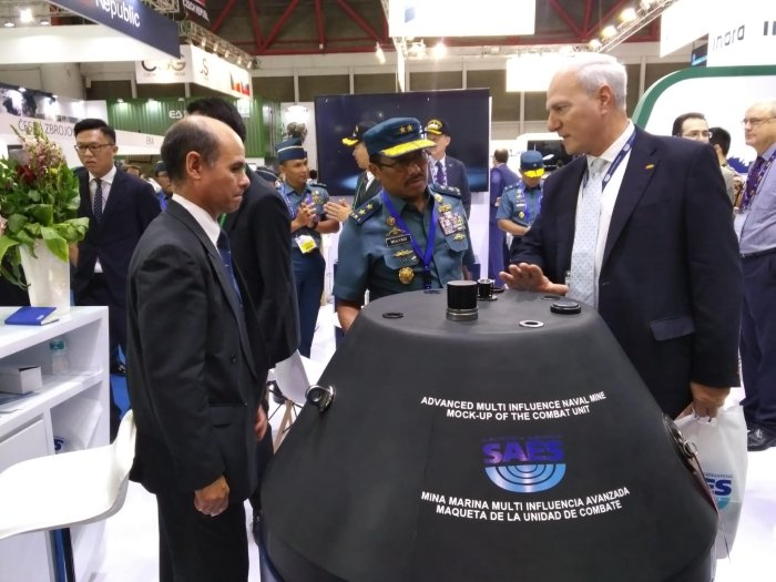 Smart Naval Mines