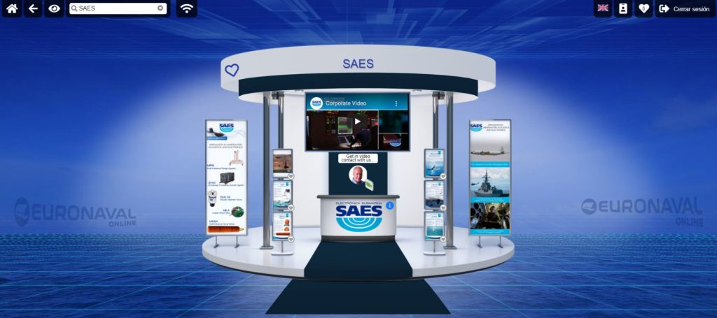 SAES participates at Euronaval 2020 Online Exhibition