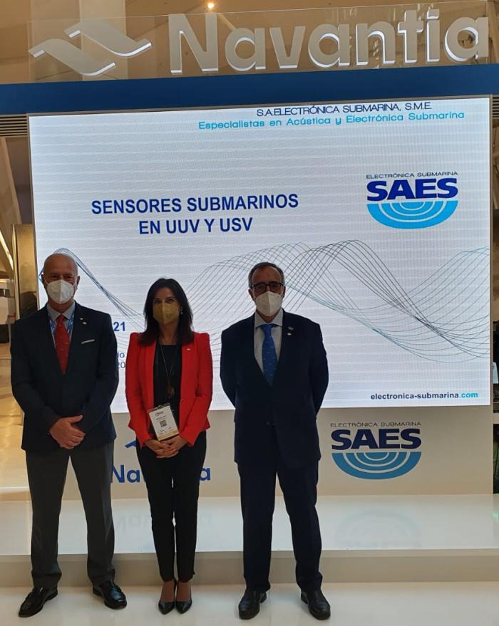 SAES participa con Navantia en UNVEX 2021